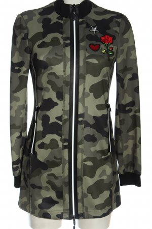 Marc Aurel Lange Jacke Camouflagemuster Casual-Look