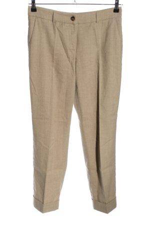 Marc Aurel Pantalone a pieghe bianco sporco puntinato stile casual