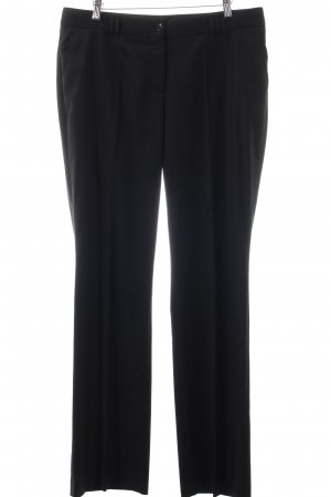 Marc Aurel Pleated Trousers anthracite-natural white business style
