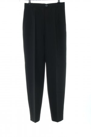 Marc Aurel Pleated Trousers black business style