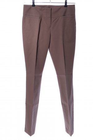 Marc Aurel Pleated Trousers brown casual look