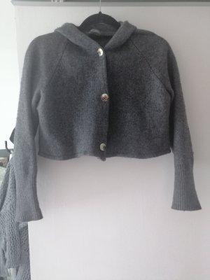 Marc Aurel Cardigan in maglia grigio Lana