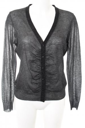 Marc Aurel Cardigan schwarz Casual-Look