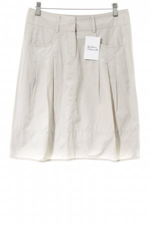 Marc Aurel Cargo Skirt light grey casual look