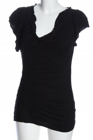 Marc Aurel Blusa Crash nero stile casual