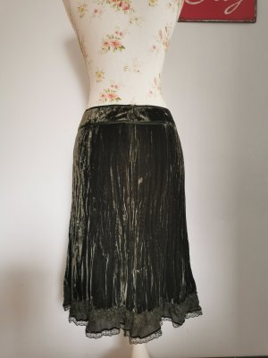 Marc Aurel Circle Skirt forest green