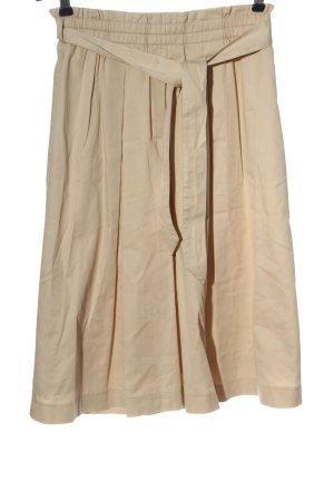 Marc Aurel Flared Skirt cream casual look