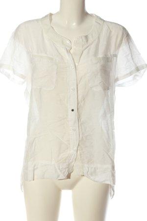 Marc Aurel Camicia blusa bianco stile casual