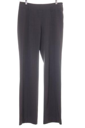 Marc Aurel High Waist Trousers anthracite elegant