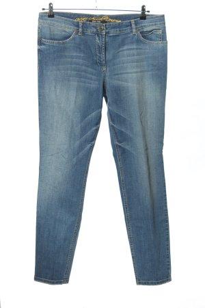 Marc Aurel Slim jeans blauw casual uitstraling