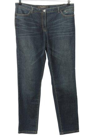 Marc Aurel High Waist Jeans blau Casual-Look