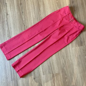 Marc Aurel Jersey Pants red-raspberry-red polyester