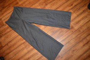 Marc Aurel Pantalone di lana grigio scuro-grigio