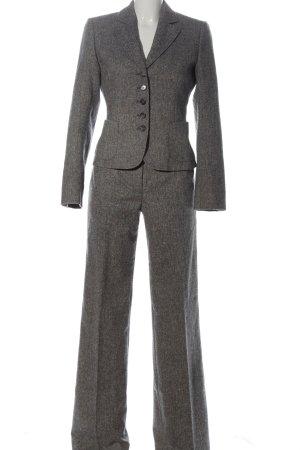 Marc Aurel Trouser Suit light grey flecked business style