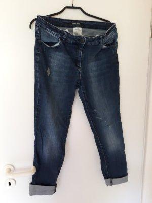 Marc Aurel Jeans stretch bleu foncé