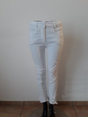 Marc Aurel Stretch Jeans white cotton