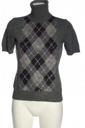 Marc Aurel Turtleneck Shirt check pattern casual look