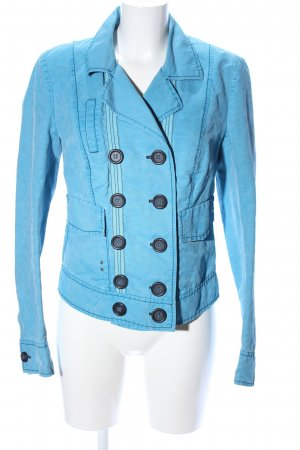 Marc Aurel Kurzjacke blau Casual-Look