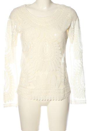 Marc Aurel Camicetta a maniche lunghe bianco stile casual