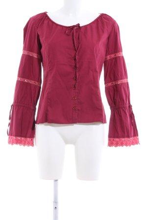 Marc Aurel Langarm-Bluse pink Elegant