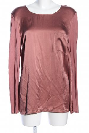 Marc Aurel Langarm-Bluse pink Casual-Look