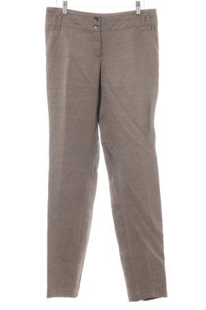 Marc Aurel Linen Pants grey brown business style