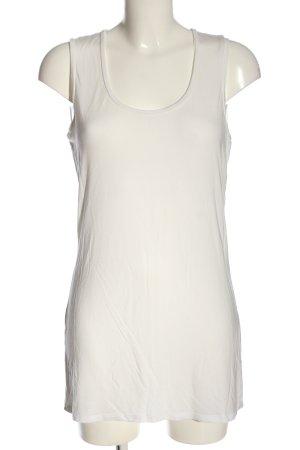 Marc Aurel Lange top wit casual uitstraling