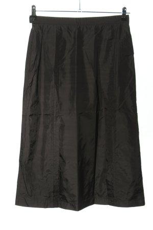 Marc Aurel Spódnica midi czarny-brązowy Gradient W stylu casual