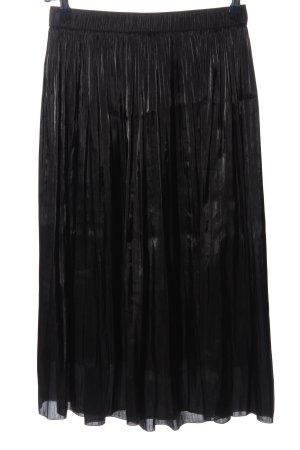 Marc Aurel Jupe plissée noir style décontracté