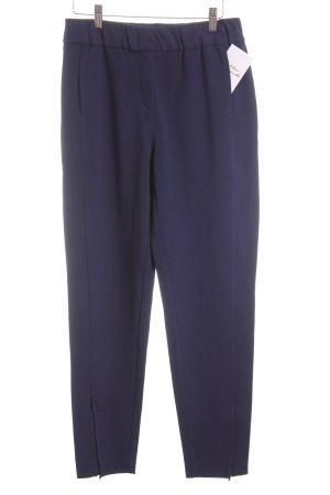 Marc Aurel Drainpipe Trousers blue elegant