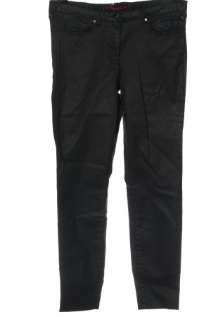 Marc Aurel Drainpipe Trousers black casual look