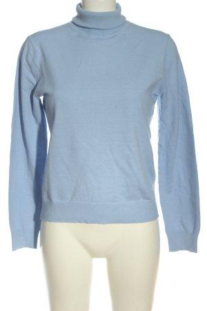 Marc Aurel Turtleneck Sweater blue casual look