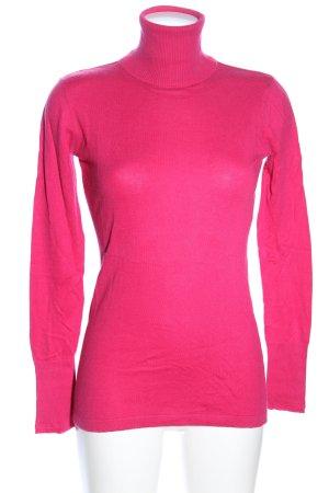 Marc Aurel Turtleneck Sweater pink casual look