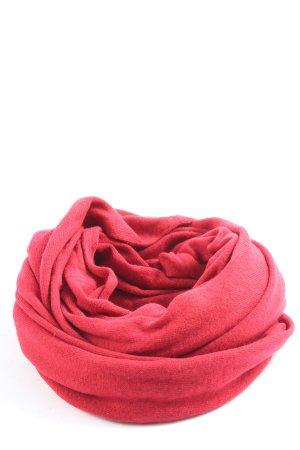 Marc Aurel Bufanda tubo rosa look casual