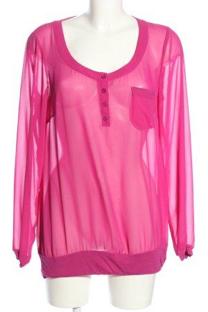 Marc Aurel Schlupf-Bluse pink Casual-Look