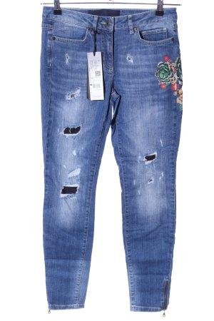 Marc Aurel Skinny Jeans blau Casual-Look