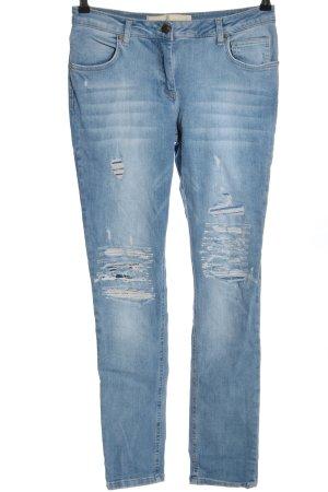 Marc Aurel Slim Jeans blau Casual-Look