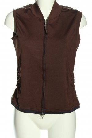 Marc Aurel Sportweste braun Casual-Look