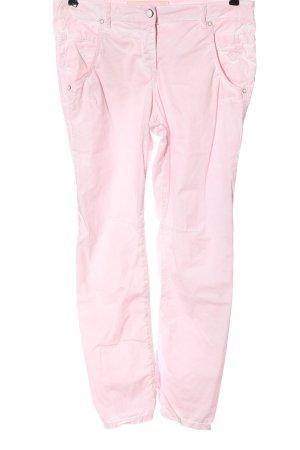 Marc Aurel Jersey Pants pink casual look