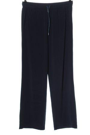 Marc Aurel Jersey Pants blue casual look