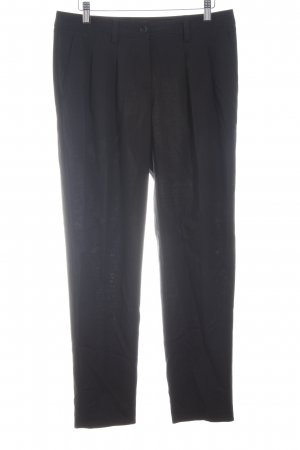 Marc Aurel Stoffhose schwarz Business-Look