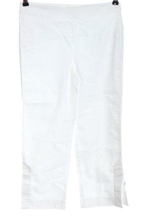 Marc Aurel Pantalone jersey bianco stile casual