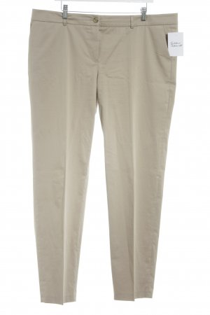 Marc Aurel Stoffhose beige Business-Look