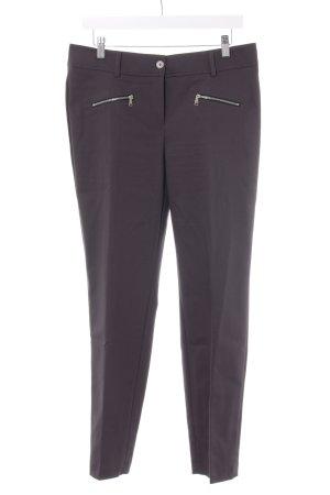 Marc Aurel Jersey Pants dark grey-dark blue business style