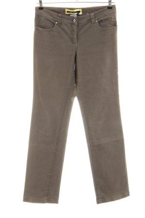 Marc Aurel Jeansy z prostymi nogawkami brąz W stylu casual