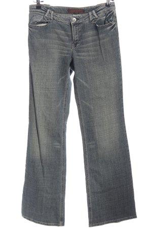 Marc Aurel Jeansy z prostymi nogawkami niebieski W stylu casual