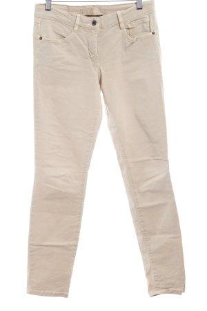 Marc Aurel Stretchhose beige Casual-Look