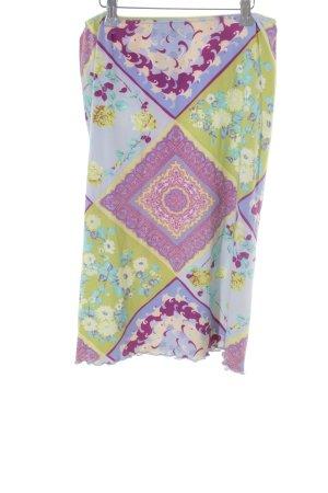 Marc Aurel Stretchrock florales Muster extravaganter Stil
