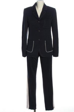 Marc Aurel Dzianinowy podwójny zestaw  czarny W stylu biznesowym