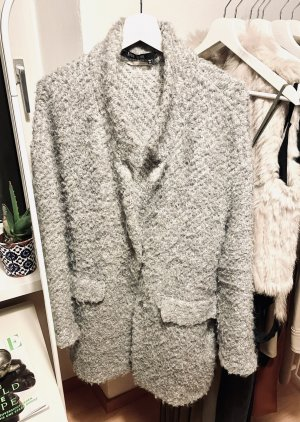 Marc Aurel Oversized Coat silver-colored